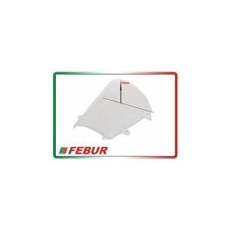 Cupolino plexiglass Febur rialzato trasparente Honda CBR 600 RR 2013-2019