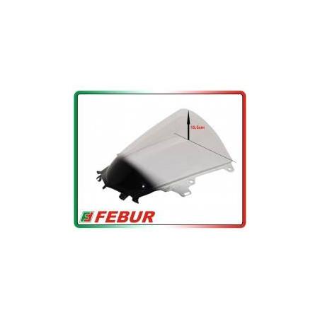 Cupolino plexiglass Febur rialzato trasparente Yamaha R1 R1M 2015-2019