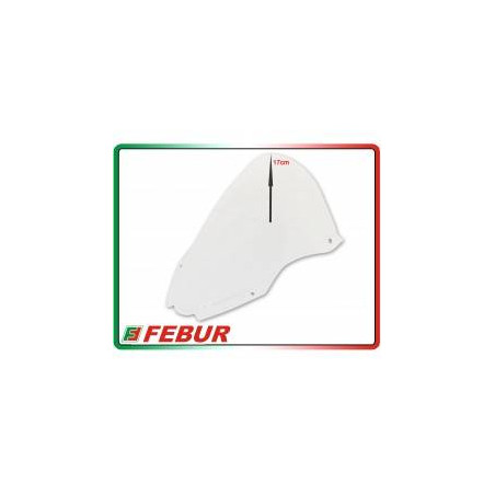 Cupolino plexiglass Febur rialzato trasparente Kawasaki ZX-10R 2016-2019