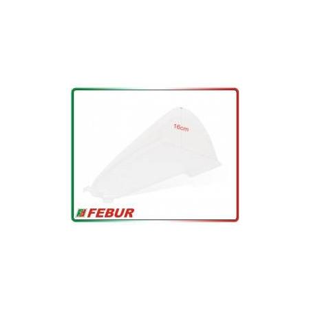 Cupolino plexiglass Febur rialzato trasparente Ducati Panigale V4R 2019