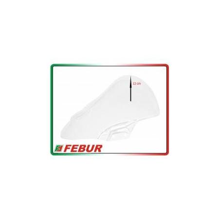 Cupolino plexiglass Febur rialzato trasparente Kawasaki Ninja 400 2018-2019