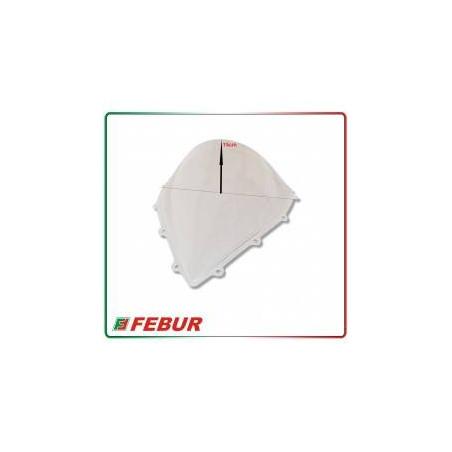 Cupolino plexiglass Febur rialzato trasparente MV Agusta F3 675 800 2012-2019