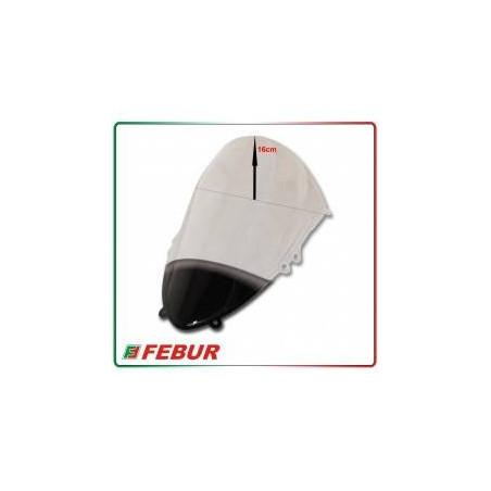 Cupolino plexiglass Febur rialzato trasparente Ducati 899 1199 Panigale 2012-2015