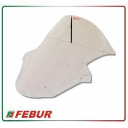 Cupolino plexiglass Febur rialzato trasparente Kawasaki ZX-10R 2011-2015