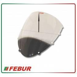 Cupolino plexiglass Febur rialzato trasparente Ducati 848 1098 1198 2007-2013