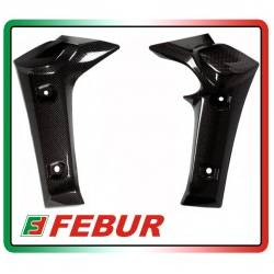 Coppia fianchetti radiatore in carbonio Yamaha FZ1 2006-2015
