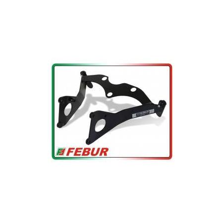 Telaietto anteriore alluminio racing Kawasaki ZX-6R 600 2009-2019