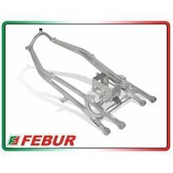 Telaietto posteriore con supporto batteria alluminio racing Honda CBR 600 RR 2007-2019