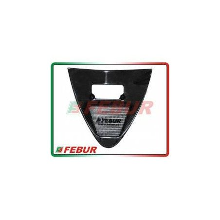 Radiatore maggiorato olio strada con puntale in carbonio Ducati 748/ R 916/ R 996 1994-2002