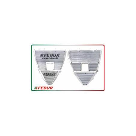 Radiatore maggiorato acqua + olio racing Aprilia RSV 1000 2004-2008
