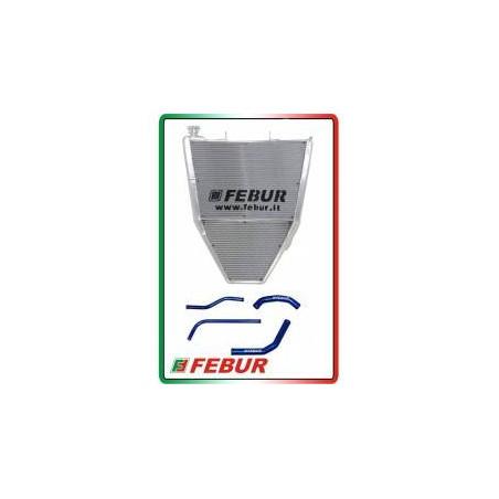 Radiatore maggiorato acqua racing Kawasaki ZX-10R 2011-2015