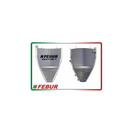 Radiatore maggiorato completo acqua + olio racing MV Agusta F4 1000 2010-2019