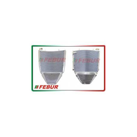 Radiatore maggiorato completo acqua + olio racing MV Agusta F3 675 800 2012-2019