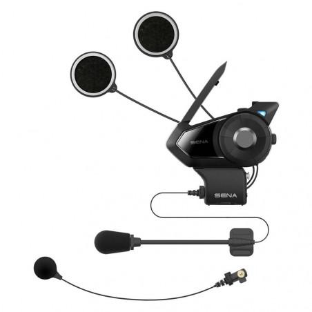 Interphone Bluetooth SENA 30K SINGLE avec interphone maillé et connexions Bluetooth