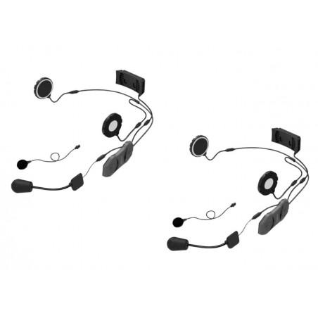 SENA 10R-01D Sistema di comunicazione Doppio con Bluetooth Ultrapiatto con FM confezione Dual Pack
