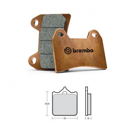 Pastiglie Z04 Brembo Racing M478Z04