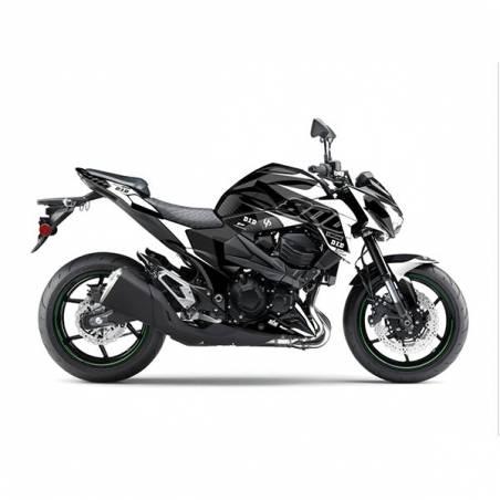 Kit Grafiche Nero-Bianco Kawasaki Z Abs Bds 800 13/16