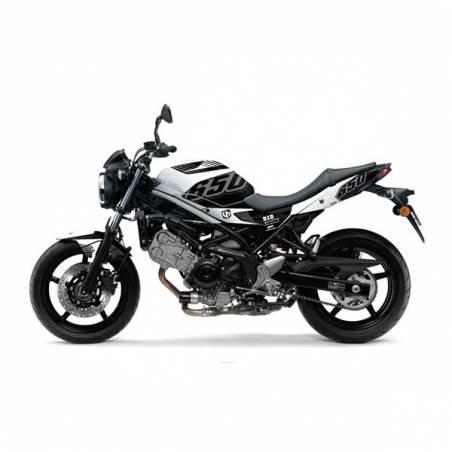 Kit Grafiche Nero-Bianco Suzuki Sv 650 08/11