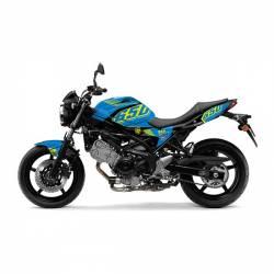 501013 Kit Grafiche Blu-Giallo Suzuki Sv Abs 650 08/13  UP DESIGN
