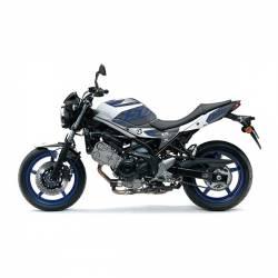 501015 Kit Grafiche Grigio-Bianco Suzuki Sv Abs 650 08/13  UP DESIGN