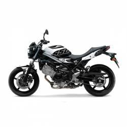 501014 Kit Grafiche Nero-Bianco Suzuki Sv Abs 650 08/13  UP DESIGN