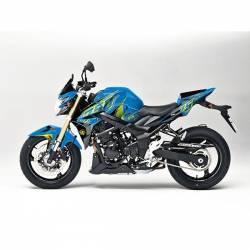 501011 Kit Grafiche Blu-Giallo Suzuki Gsx R 750 08/10  UP DESIGN