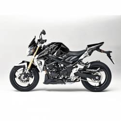 Kit Grafiche Nero-Bianco Suzuki Gsx R 750 08/10