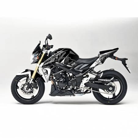 Kit Grafiche Nero-Bianco Suzuki Gsx R 750 11/16