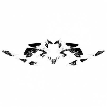 Kit Grafiche Nero-Bianco Yamaha Xj 6 N 600 09/15