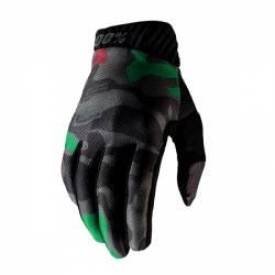 463054L GUANTI 100% RIDEFIT BLACK CAMO (L)  100%