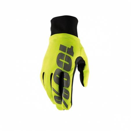 463061XL GUANTI 100% HYDROMATIC WATERPROOF NEON YELLOW (XL)  100%