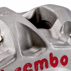 220A88510 KIT 2 CALIPER BREMBO RACING RADIAL M50 + 4 PADS DISTANCE 100 MM