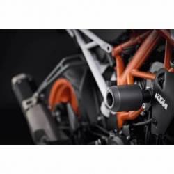 PRN012728-03 KTM 125 Duke Crash Bobbins 2017+ 5056316607759 Evotech Performance