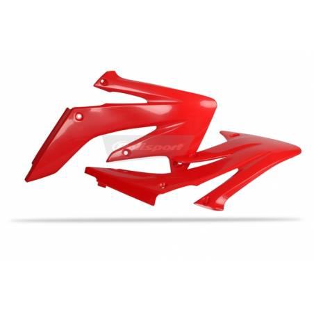Convogliatori radiatori HONDA CRF 250 R 2004-2009 Rosso cr04