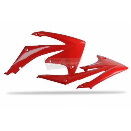 Convogliatori radiatori HONDA CRF 450 R 2009-2012 Rosso cr04