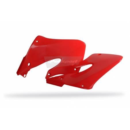 Convogliatori radiatori HONDA CR 250 1997-1999 Rosso fluo