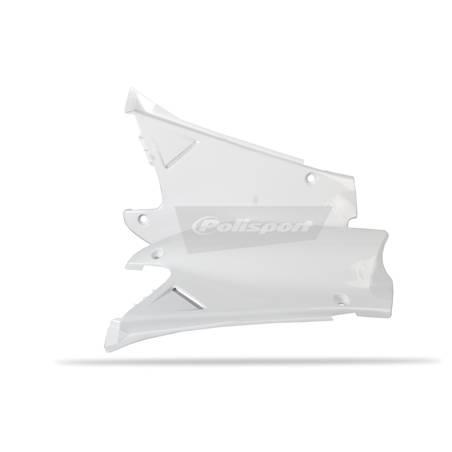 Portanumeri laterali HONDA CR 250 2000-2001 Bianco