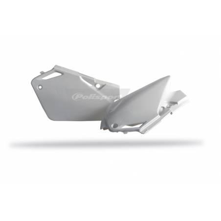 Portanumeri laterali HONDA CR 85 2003-2007 Bianco