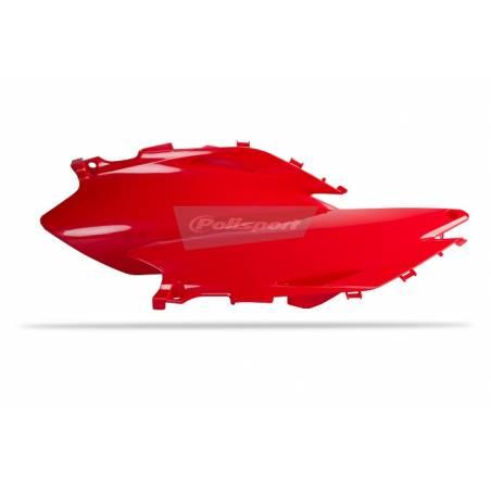 Portanumeri laterali HONDA CRF 250 R 2010-2010 Rosso cr04