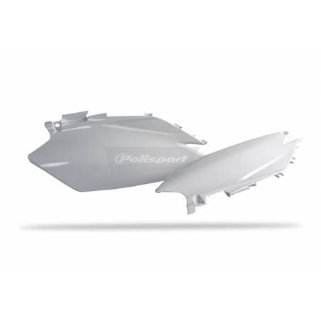 Portanumeri laterali HONDA CRF 450 R 2011-2012 Bianco
