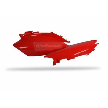 Portanumeri laterali HONDA CRF 450 R 2011-2012 Rosso cr04