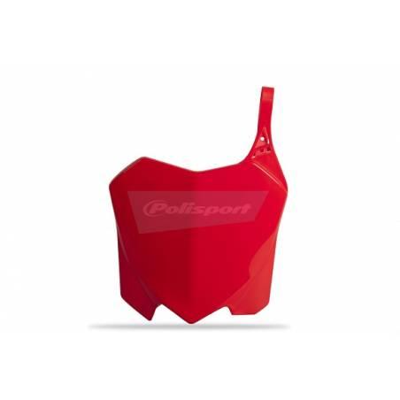Tabella portanumero HONDA CRF 450 R 2009-2012 Rosso cr04