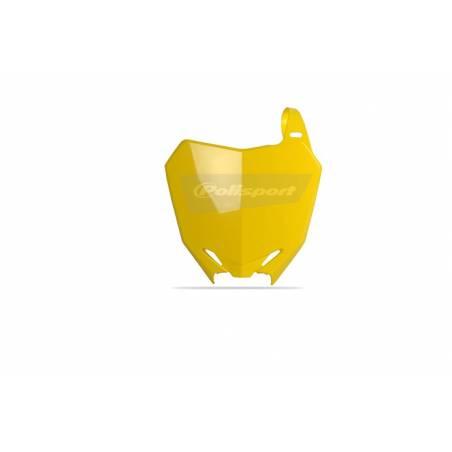 Tabella portanumero SUZUKI RMZ 450 2008-2017 Giallo rm01