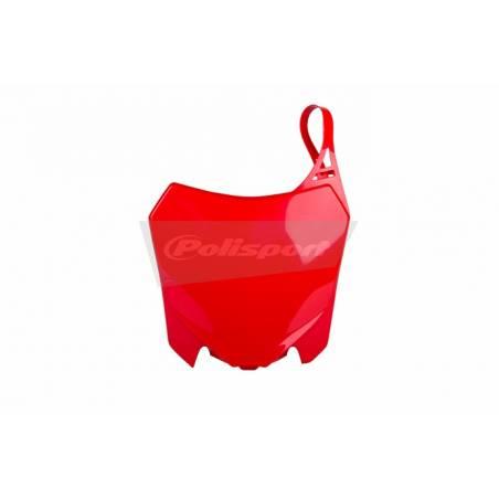 Tabella portanumero HONDA CRF 450 R 2013-2016 Rosso cr04
