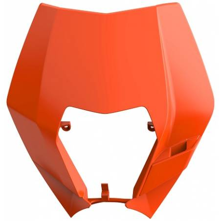 Mascherina portafaro KTM 250 EXC F 2008-2013 Arancione KTM