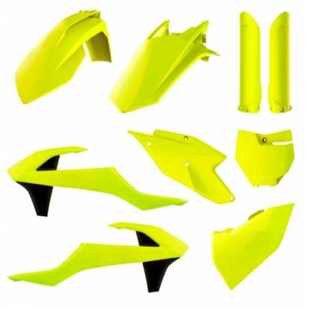 Kit plastiche replica - FLUO KTM 125 SX 2016-2018 Giallo fluo