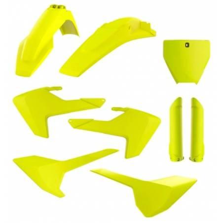 Kit plastiche replica - FLUO HUSQVARNA 125 TC 2016-2018 Giallo fluo