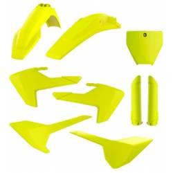 Kit plastiche replica - FLUO HUSQVARNA 450 FC 2016-2018 Giallo fluo