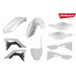 Kit plastiche replica - CLEAR HONDA CRF 450 R 2017-2019 Clear