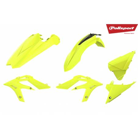 Kit plastiche replica - FLUO BETA Xtrainer 250 2018-2018 Giallo fluo
